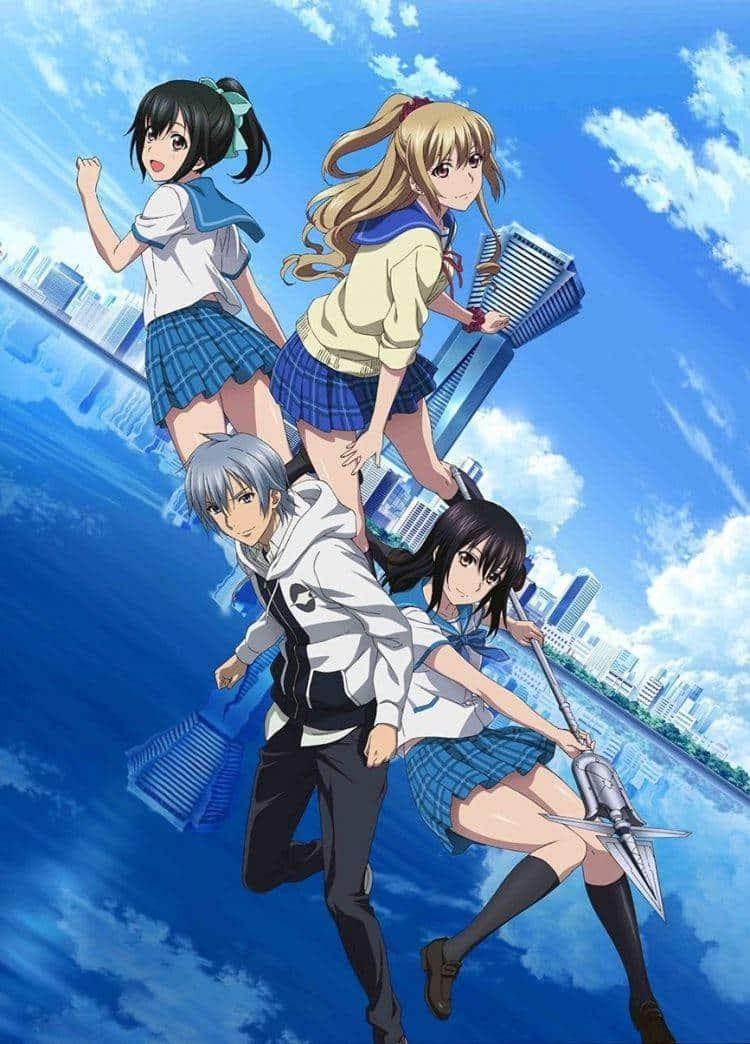 Strike the Blood III OVA สายเลือดแท้ที่สี่ (ภาค3) ตอนที่ 1-10 จบ ซับไทย