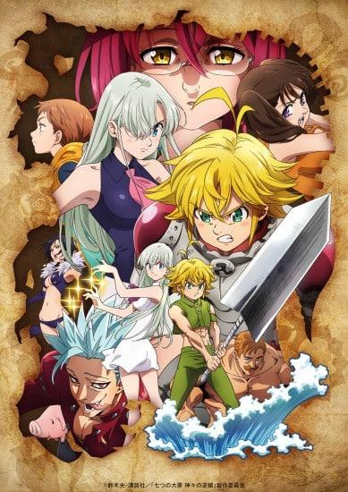 Nanatsu no Taizai Season 3 ศึกตำนาน 7 อัศวิน (ภาค3) ตอนที่ 1-24 ซับไทย (จบแล้ว)
