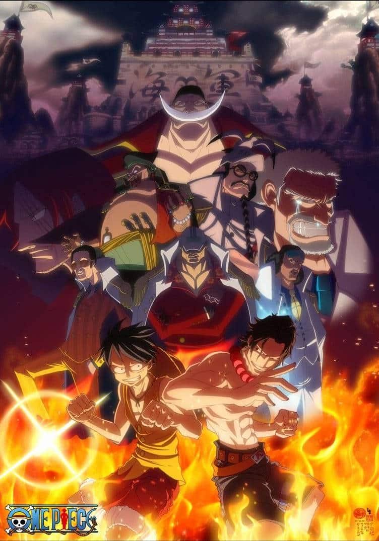 One Piece วันพีช Season 13 – คุกใต้สมุทรอิมเพลดาวน์ และสงคราม มารีนฟอร์ด พากย์ไทย ตอนที่ 422-522
